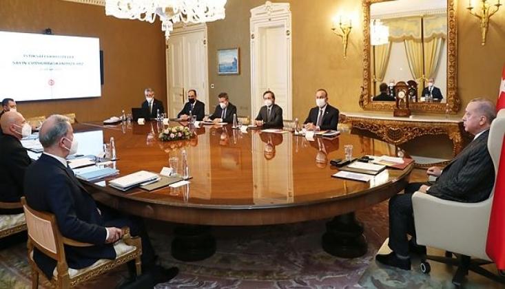 Erdoğan Başkanlığında Dış Politika Değerlendirme Toplantısı