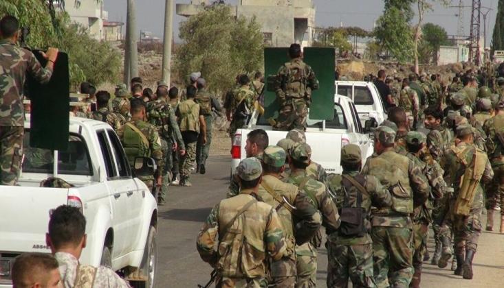 Suriye Ordusu Eğitimlere Hız Verdi