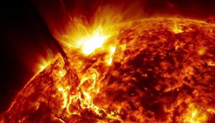 Güneş'te 2017'den Bu Yana En Güçlü Patlama Meydana Geldi