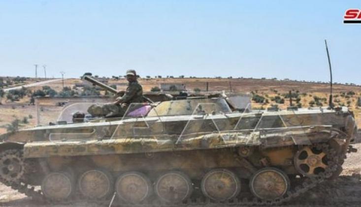 Suriye Ordusu Han Şeyhun'a Yaklaştı