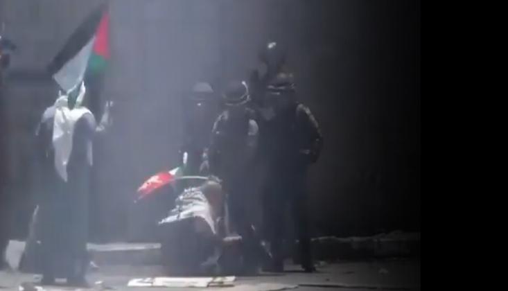İşgalci Siyonistler Filistinlilere Saldırdı