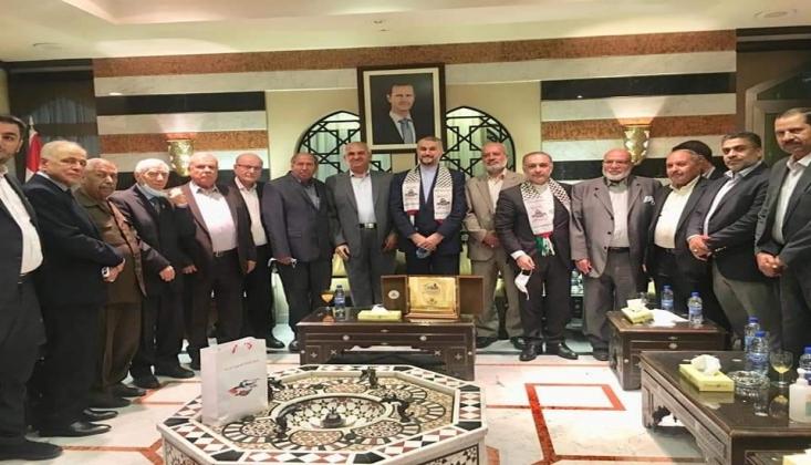İran Dışişleri Bakanı Şam'da Filistinli Grupların Liderleriyle Görüştü