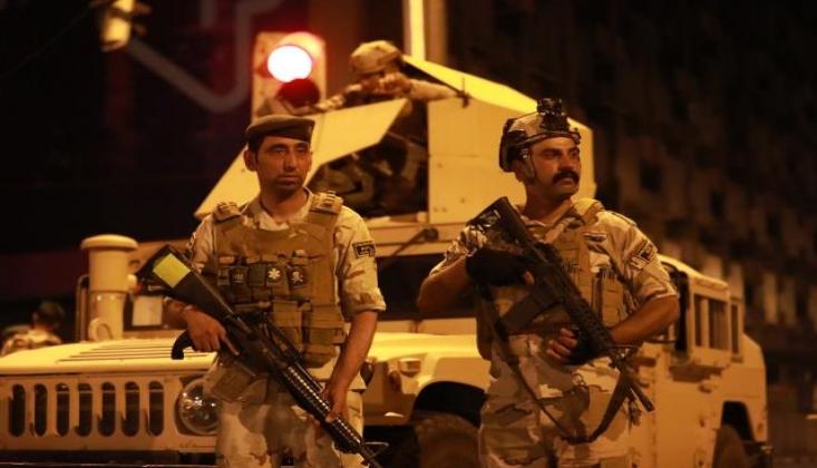 Irak'ta Neler Oluyor? Haşd Şabi Yeşil Bölgede