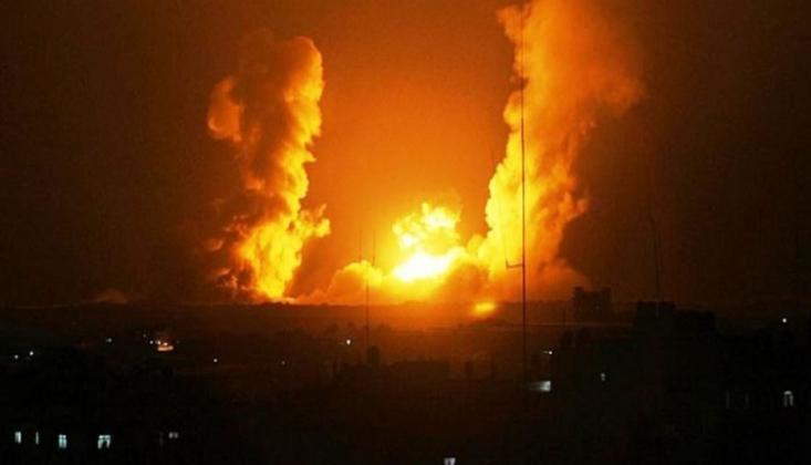 Siyonist Rejimden Suriye'ye Saldırı/VİDEO