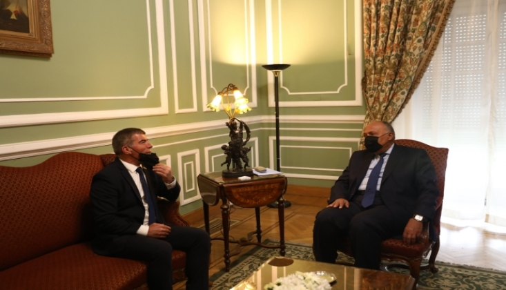 Siyonist Rejim Dışişleri Bakanı Mısır'a Gitti