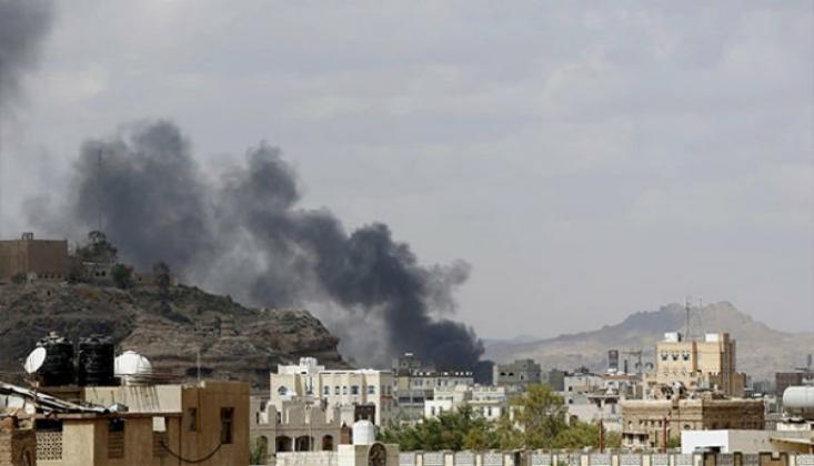 Suudi Savaş Uçakları, Yemen'in Harad Şehrini Bombaladı