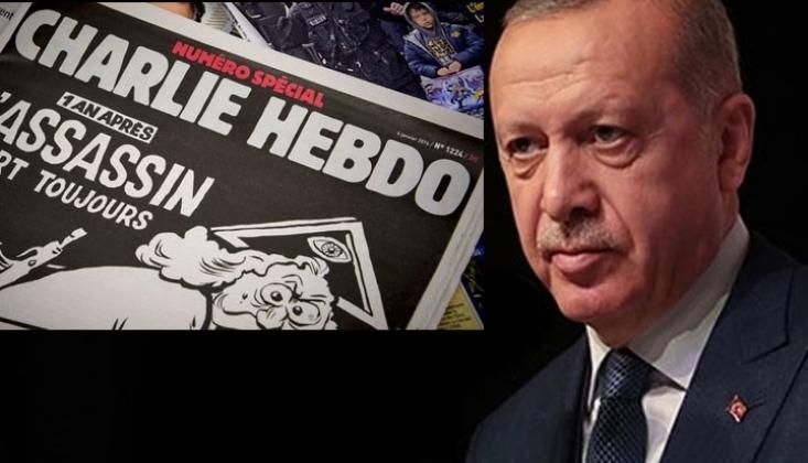 Charlie Hebdo'nun Erdoğan Karikatürüne Soruşturma
