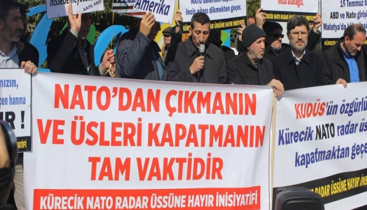Kürecik NATO Radar Üssüne Hayır