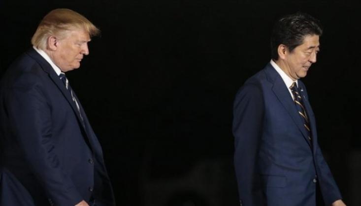 Trump ve Abe Telefonda İran'ı Görüştü