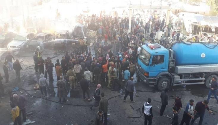 Suriye'de Bombalı Saldırı