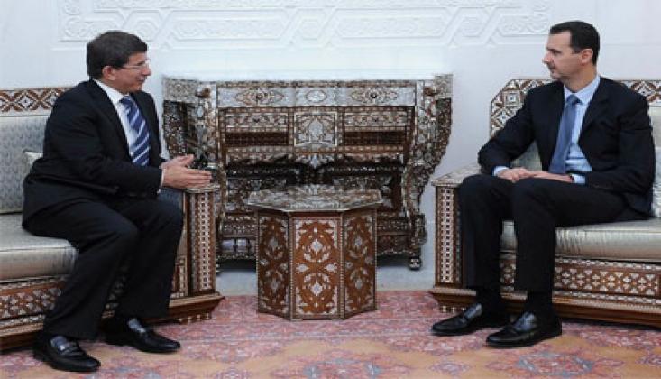 Davutoğlu ve Ekibinden 'Suriye Meselesi' Stratejisi