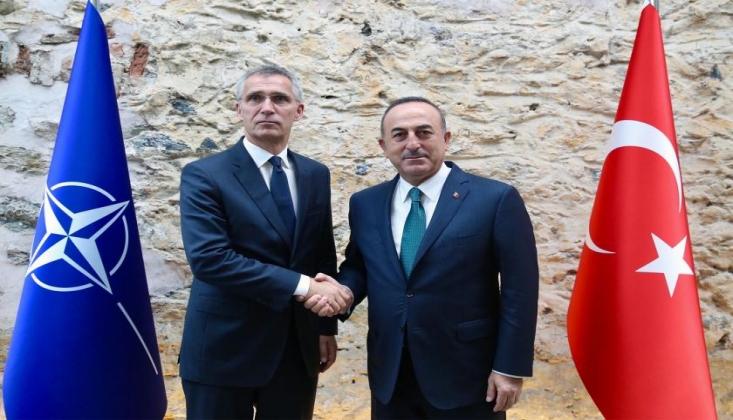Çavuşoğlu NATO Sekreteri ile Görüştü