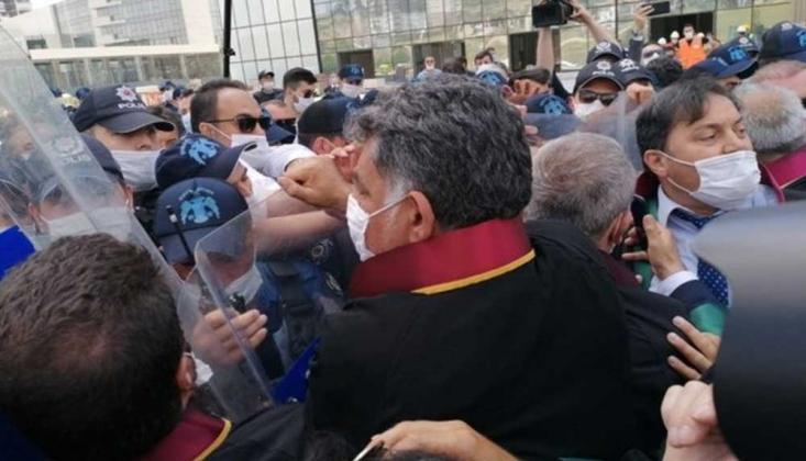 Baro Başkanlarına Ankara Girişinde Polis Müdahalesi