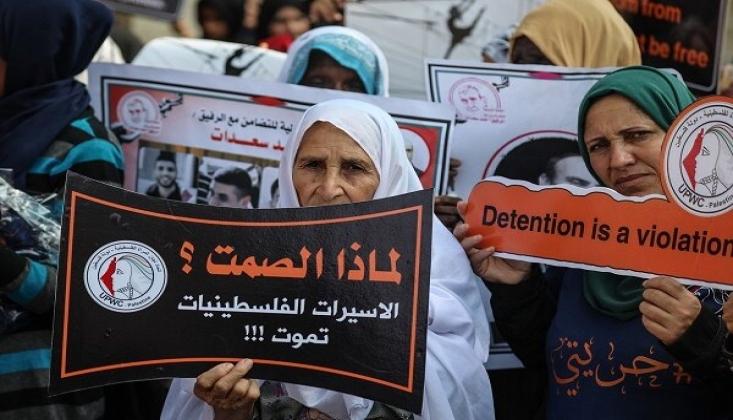 Siyonist Rejim Hapishanelerindeki Filistinli Kadın Mahkumlar Zor Durumda