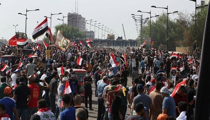 Irak'ta Gösteriler Tekrar Şiddetlendi