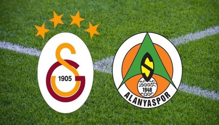 Galatasaray - Alanyaspor! İlk 11'ler