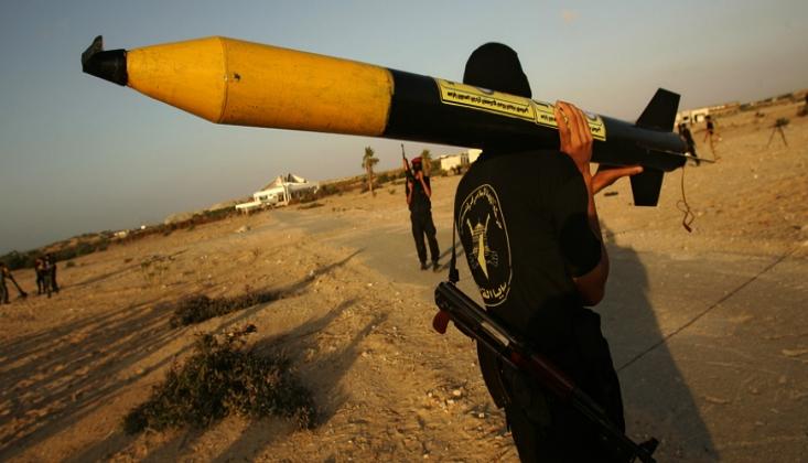 Filistin'in Elindeki Füzeler Dengeleri Alt Üst Etti