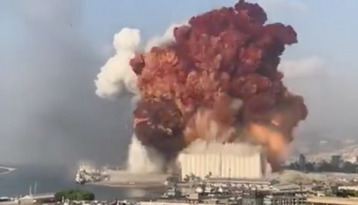 Beyrut Patlamasının Birinci Yıldönümü