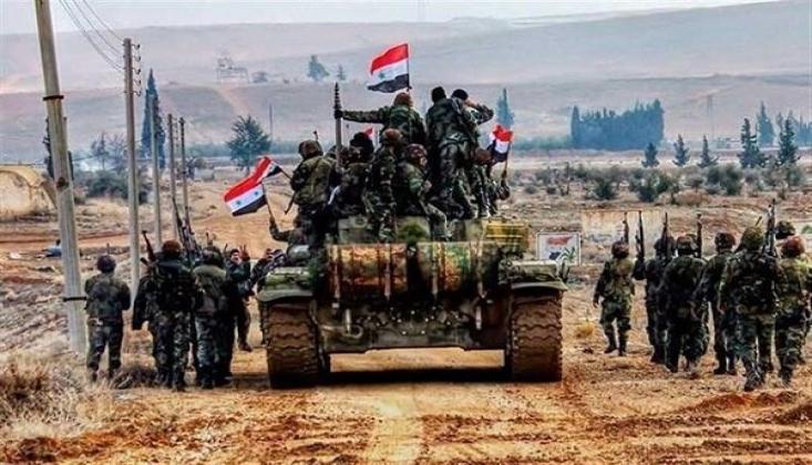 Suriye Ordusu Stratejik Bölge 'Sarakib'i Geri Aldı