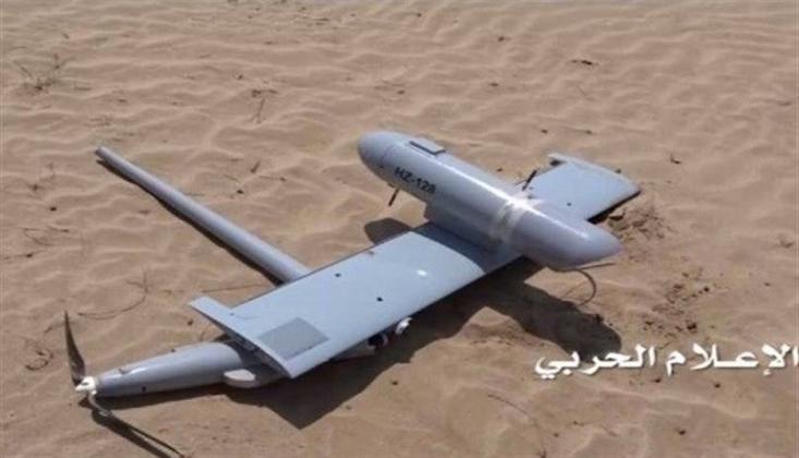 Yemen Güçleri, El-Hudeyde'de Suudi Koalisyonunun Casus İHA'sını Düşürdü