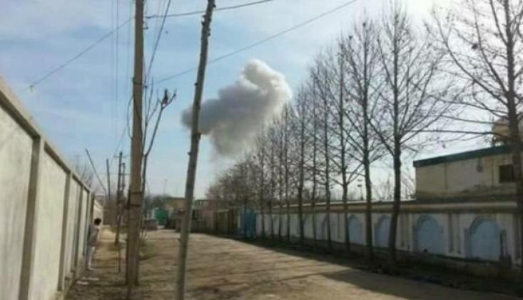 Afganistan'da Futbol Sahasında Patlama