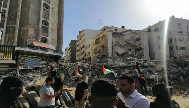 Siyonist İsrail Saldırılarında 2 Bin Kişi Evsiz Kaldı