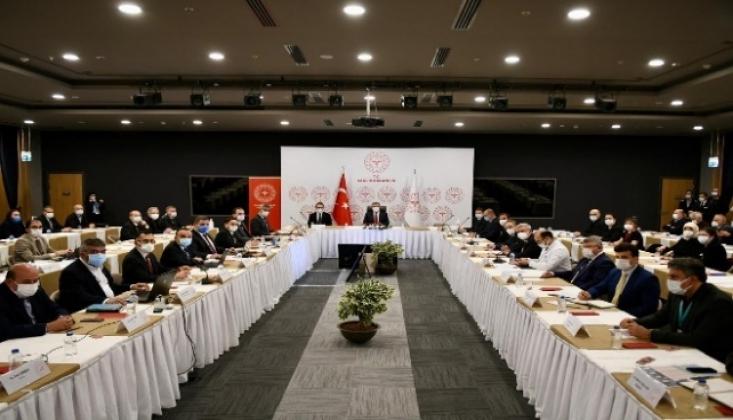 İstanbul'da Kovid-19 Toplantısı
