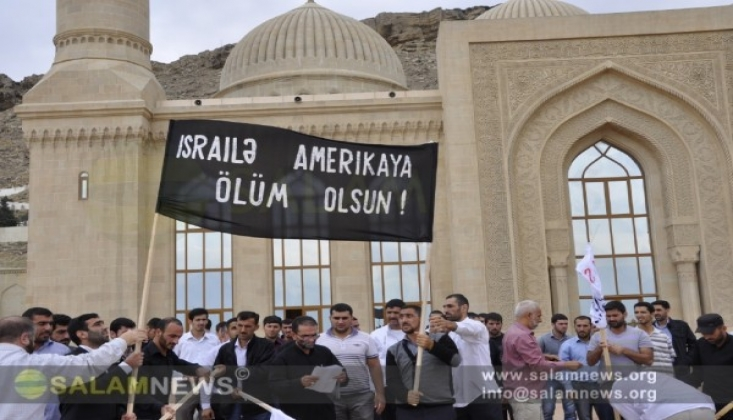 Azerbaycan'da Dünya Kudüs Günü Etkinliğine Katılanlara Şiddet ve Tutuklama
