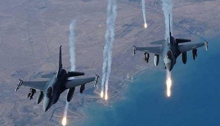 Suriye ve Rusya Savaş Uçaklarının Kapsamlı 'Nusra' Operasyonu
