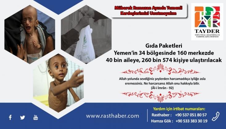 Yemen'e Yardım Et!