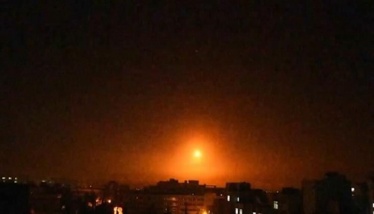Suriye'deki Humus ve Kuneytra'ya Füze Saldırısı