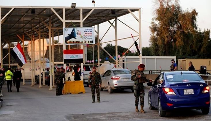 Irak'ta Yeşil Bölge'de Sıkı Güvenlik Önlemleri Sürüyor
