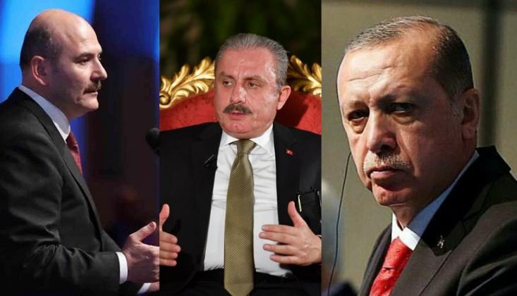 Erdoğan'dan Şentop'a Soylu Talimatı İddiası