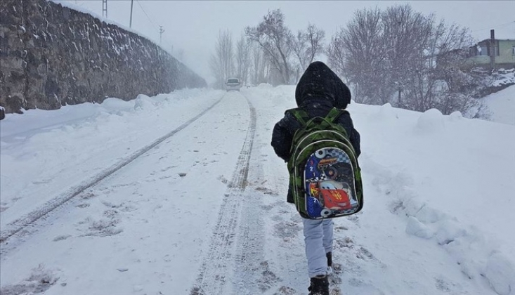 3 İlde Yüz Yüze Eğitime Kar Engeli