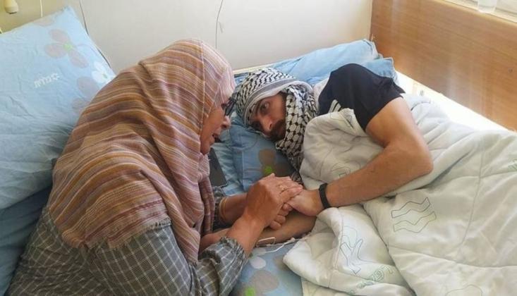 Filistinli Ebu Atvan Açlık Grevini Sürdürüyor