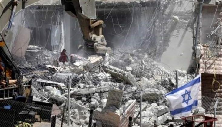129 Bin Filistin Yerleşim Yeri Kudüs'te İşgalciler Tarafından Yıkıldı