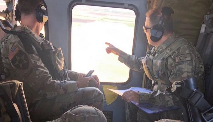 Türkiye ile ABD'den Fırat'ın Doğusunda Üçüncü Ortak Helikopter Uçuşu