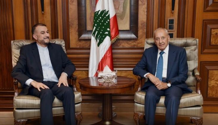 İran Tüm Gücüyle Lübnan'ı Desteklemektedir