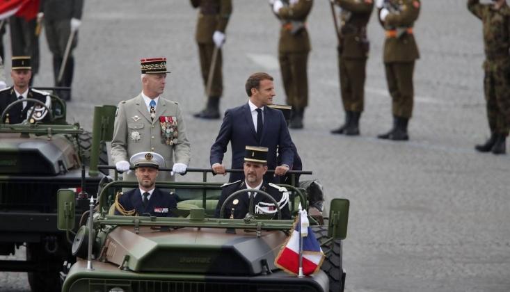 Askerden Macron'a İslamofobik Bildiri