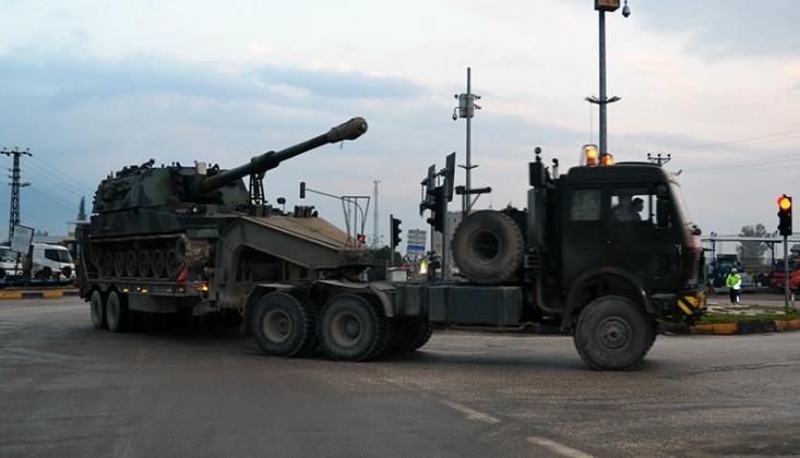 Suriye'de Gözlem Noktalarına Askeri Sevkiyat Sürüyor