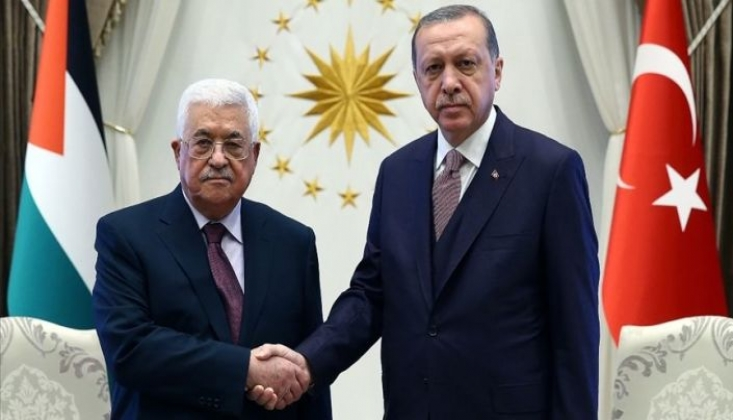 Erdoğan, Abbas ve Heniyye İle Görüştü; İsrail'i En Sert Şekilde Kınadı!