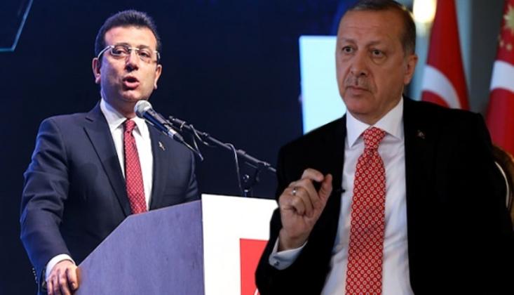 İmamoğlu'ndan Erdoğan'aın İddiaların Yanıt