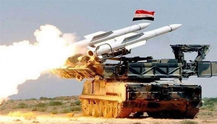 Suriye Ordusu Halep'te Bir Casus Uçağını Vurdu
