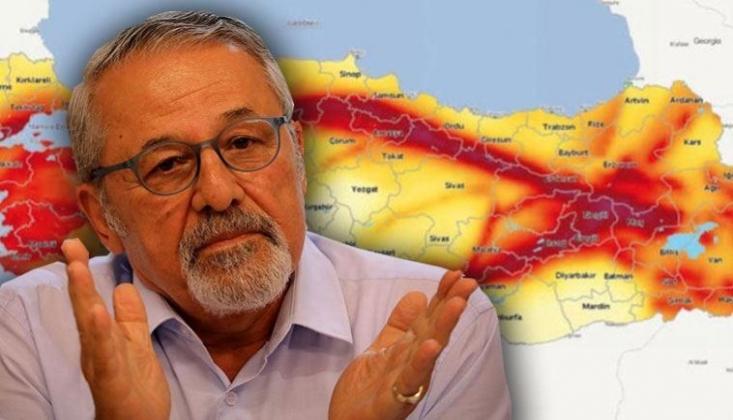 Prof. Naci Görür'den Haritalı Deprem Uyarısı