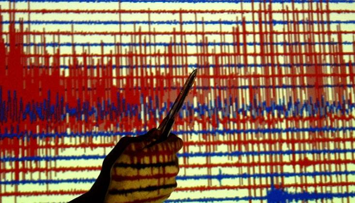 Yunanistan'da 4,9 Büyüklüğünde Deprem