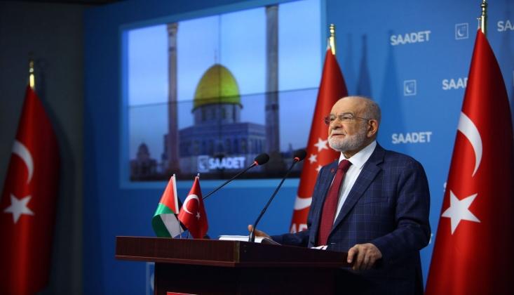 Karamollaoğlu'ndan Çağrı: İsrail Güçten Anlar Harekete Geçin