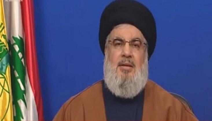 Hasan Nasrallah İran'ın Korona ile Mücadelesini Takdir Etti