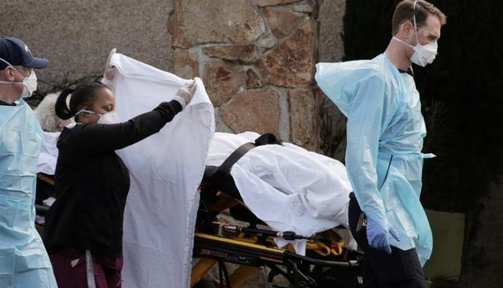 Amerika'da Korona Ölümleri 420 Bini Aştı