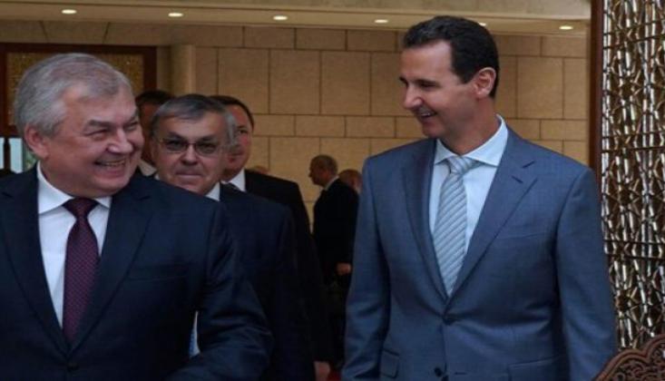 Lavrentyev, Esad İle İdlib'i Görüştü