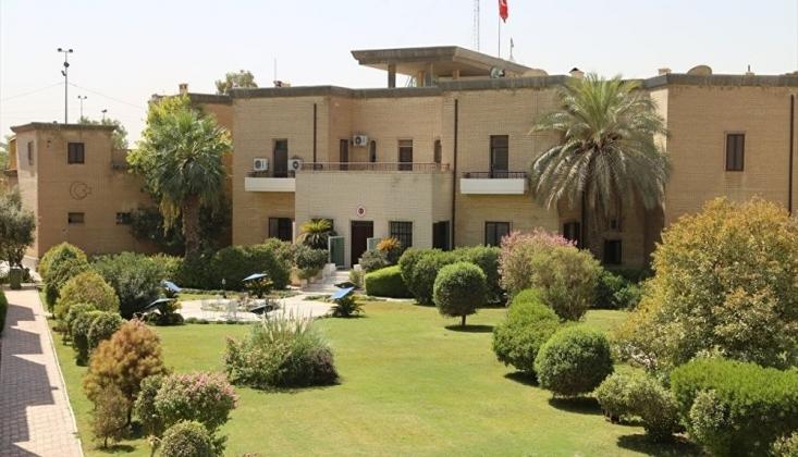 Türkiye'nin Bağdat Büyükelçiliği Yakınlarına Füze Saldırısı